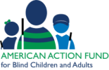 American Action Fund for Blind Children and Adults logo.