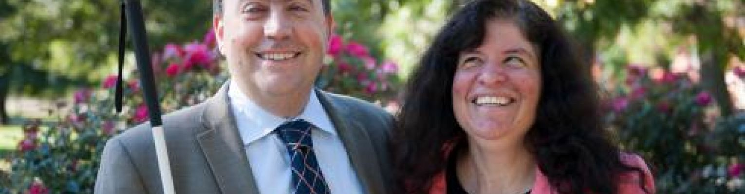 Mark and Melissa Riccobono smiling.