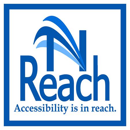 NReach logo - Accessibility is in reach.