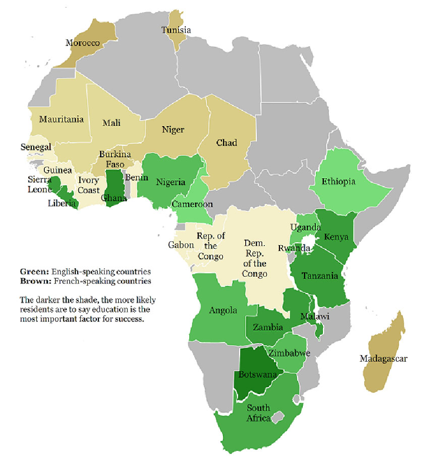 Current Map Of Africa Countries.Unified English Braille And Literacy Development In English Speaking