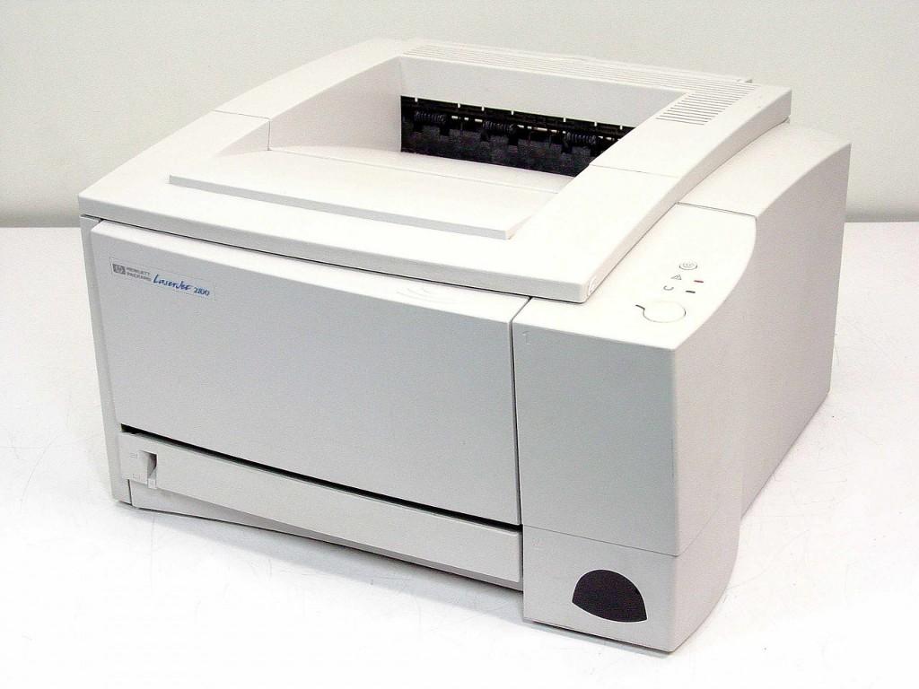 HP 2100 printer