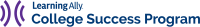 Learning Ally's College Success Program Logo