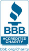 The NFB is a Better Business Bureau accredited charity.