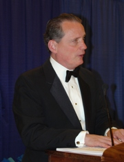 President Marc Maurer (1986-Present) delivering the banquet speech.