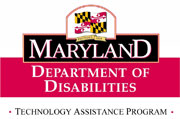 Maryland technology assistance program logo