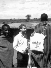 Photo of Michael Baillif in Kenya