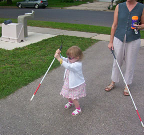 Using The Teaching Cane Strategy With Children Who Are